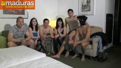 Orgia de gente liberal en un hotel de Madrid - foto 1