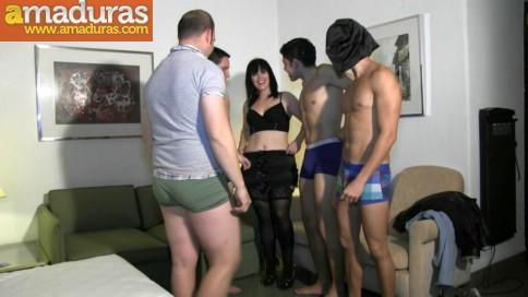 Orgia de gente liberal en un hotel de Madrid - foto 2