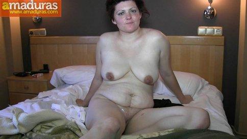 Gordita treintañera muy salida follando sin condón - foto 36
