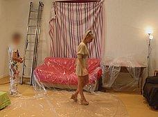 Madura se folla al joven pintor y hace squirt sobre él - foto 9