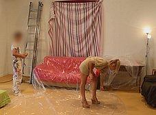 Madura se folla al joven pintor y hace squirt sobre él - foto 10