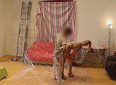 Madura se folla al joven pintor y hace squirt sobre él - foto 11