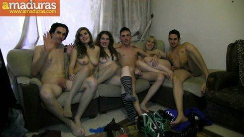 Increible orgia amateur de parejitas españolas - foto 36
