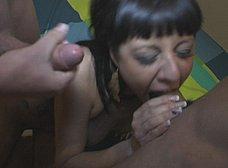 La primera doble penetracion de Damaris: brutal !! - foto 7