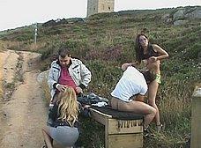 Orgia al aire libre en la Torre de Hercules - foto 17