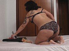 Lulu Petrel, madurita enganchada al sexo anal - foto 10