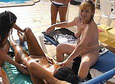 BRUTAL incesto amateur en vacaciones - foto 13