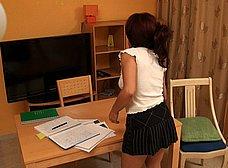 Profesora de inglés de 36 años se folla a su alumno - foto 31