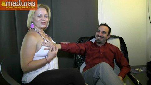 Madura jamona española y su marido: debut porno - foto 1