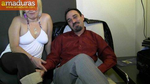 Madura jamona española y su marido: debut porno - foto 2