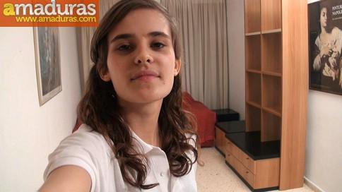 Primera camara oculta de Ainara la colegiala - foto 1