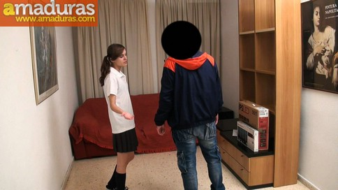 Primera camara oculta de Ainara la colegiala - foto 4