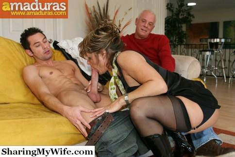 Le regala un veinteañero a su esposa madura - foto 4