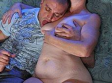 Madura salida despierta a su hijo para follar - foto 10