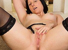 El culo gordo de la madura cuarentona - foto 13