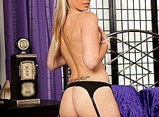 Esposa madurita en medias negras sexys - foto 8