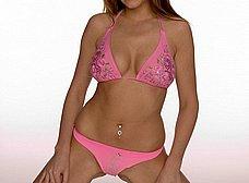 La pornostar Carmen Gemini se quita el bikini - foto 9