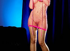La rubita del vestido sexy rosa - foto 15