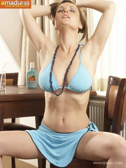 Probándose el bikini para el veranito - foto 5