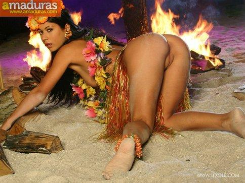 Amazona polinesa con ganas de follar - foto 20
