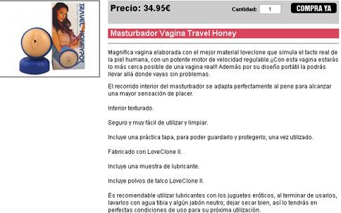 No viajes sólo: vagina travel honey