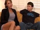 Se folla a su sobrino en un casting porno