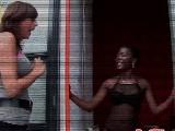 Prostituta negra holandesa nos abre sus puertas para follar