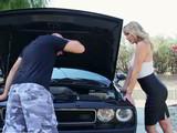 Trabajito oral para darle las gracias al mecánico del coche
