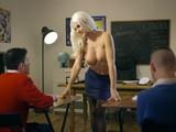 Maestra de escuela seducida por Jordi El Niño Polla