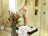 Mi mujer se da una ducha y se viene a la cama para echar un polvo