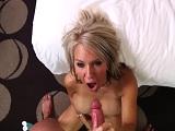 Casting porno a la madura, follada anal y corrida facial para ella