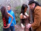 Crazy Lynn y Susy Gala folladas salvajemente en el bosque