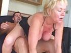 Abuela cerda follandose a su joven amante