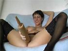 Casada cuarentona se masturba en la webcam porno