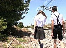 Las travesuras de Ainara y Jordi Niño Polla