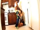 Madura cougar se folla al novio negro de su hija