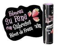 Polvos sabrosos de fresa para el pene