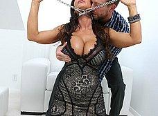 Fotos porno de Lisa Ann follada salvajemente